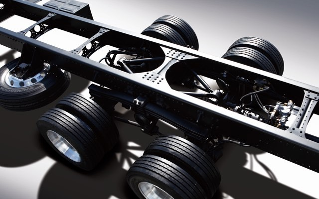 Front frame & high-tensile chassis